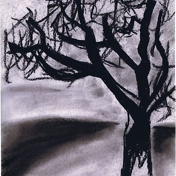 charcoal tree by randomness