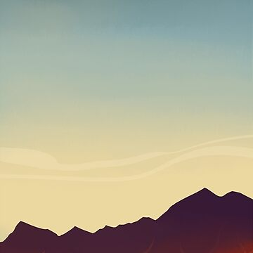 Mountainscape by siins