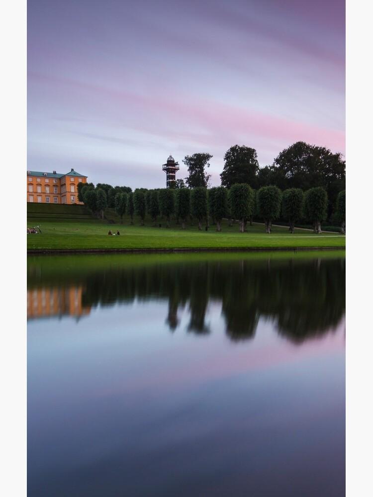 Sunset at Frederiksberg Garden by LukaSkracic