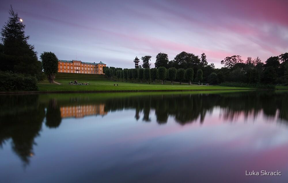 Sunset at Frederiksberg Garden by Luka Skracic