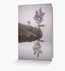 Norwegian reflection Greeting Card