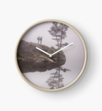 Norwegian reflection Clock
