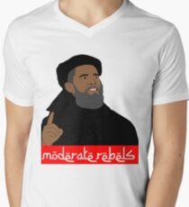 Obama ''moderate rebels'' shirt Men's V-Neck T-Shirt
