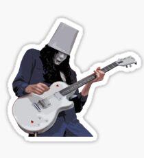 Folks Call Him Buckethead Sticker