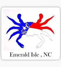 NC Crab  (Emerald Isle, NC) Sticker