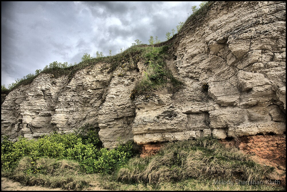 Hunstanton Cliffs HDR by Melody Shanahan-Kluth
