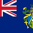 Pitcairn Islands Flag Products by Mark Podger