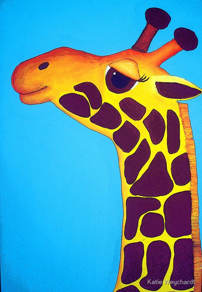 Giraffe of Happiness by Katie Weychardt