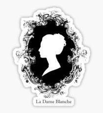 La Dame Blanche Sticker