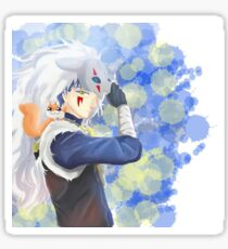 Blue dragon from anime akatsuki no yona Sticker