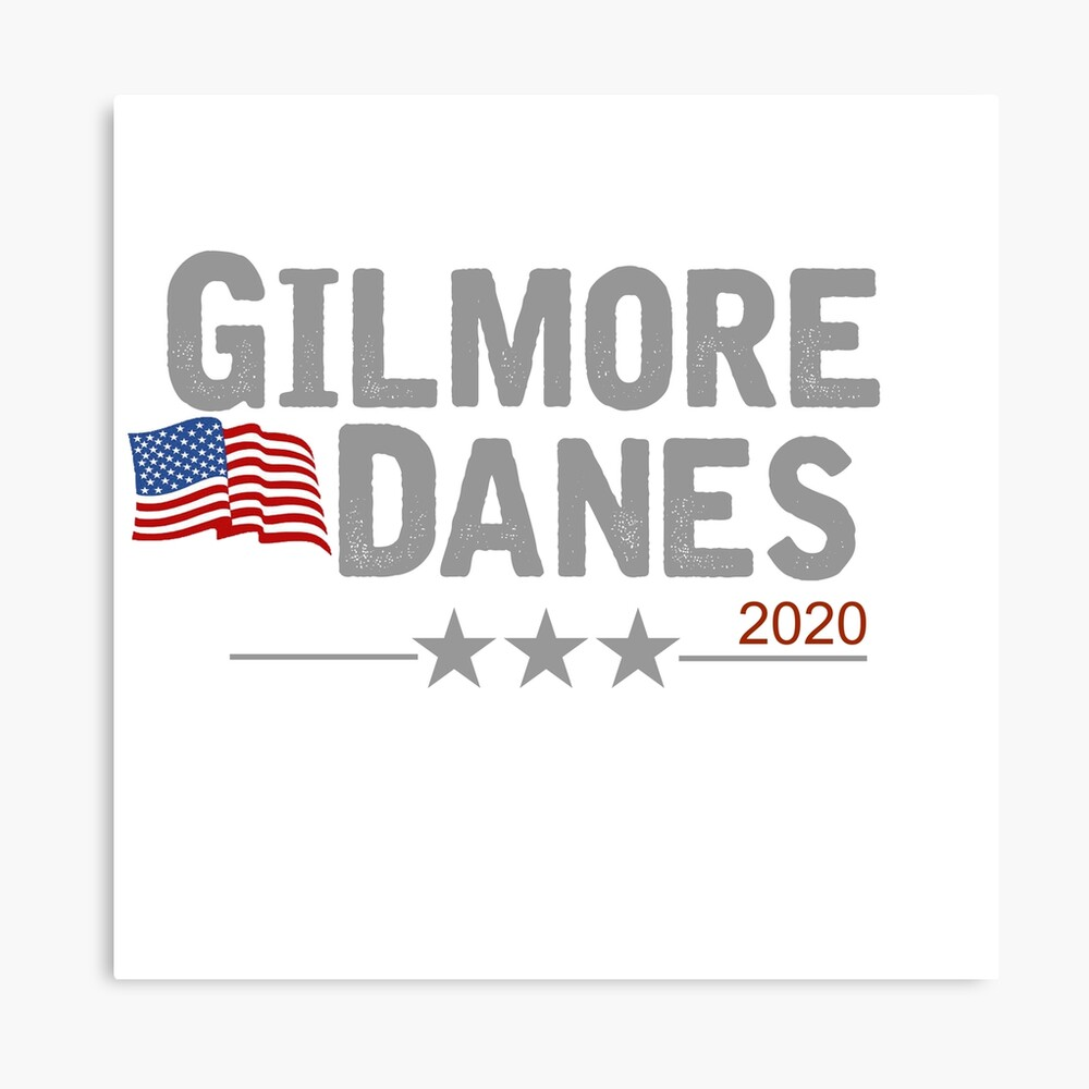 Gilmore/Danes Canvas Print