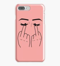 Middle Finger/Eyes iPhone 7 Plus Case