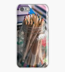 Colored Pencils iPhone Case/Skin