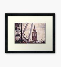 London City Icons Framed Print