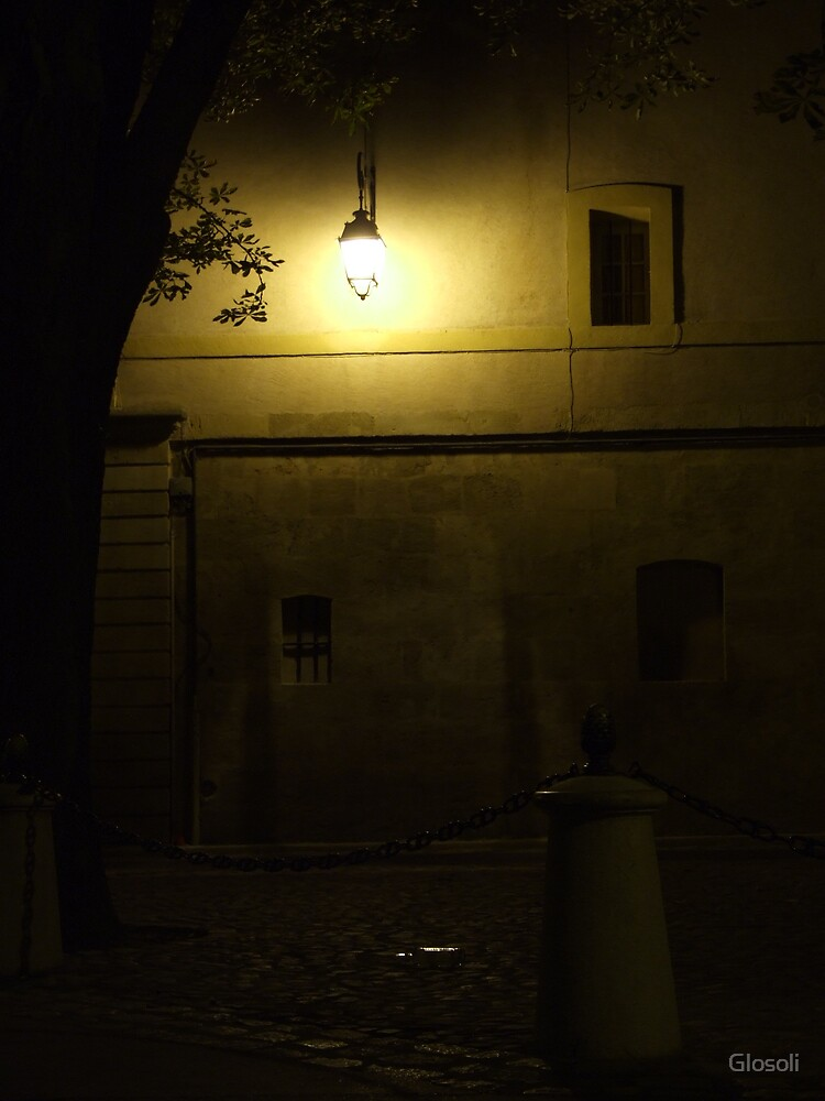under the small latern by Glosoli