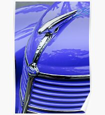 1938 Ford Hood Ornament -0288c Poster