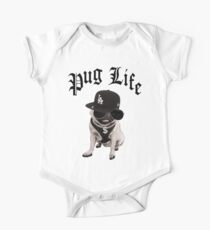 Pug Life One Piece - Short Sleeve