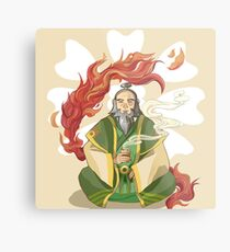 Iroh, Dragon of the West Metal Print