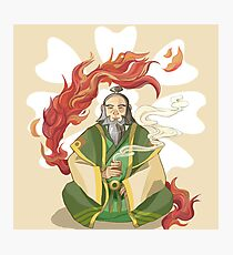 Iroh, Dragon of the West Photographic Print