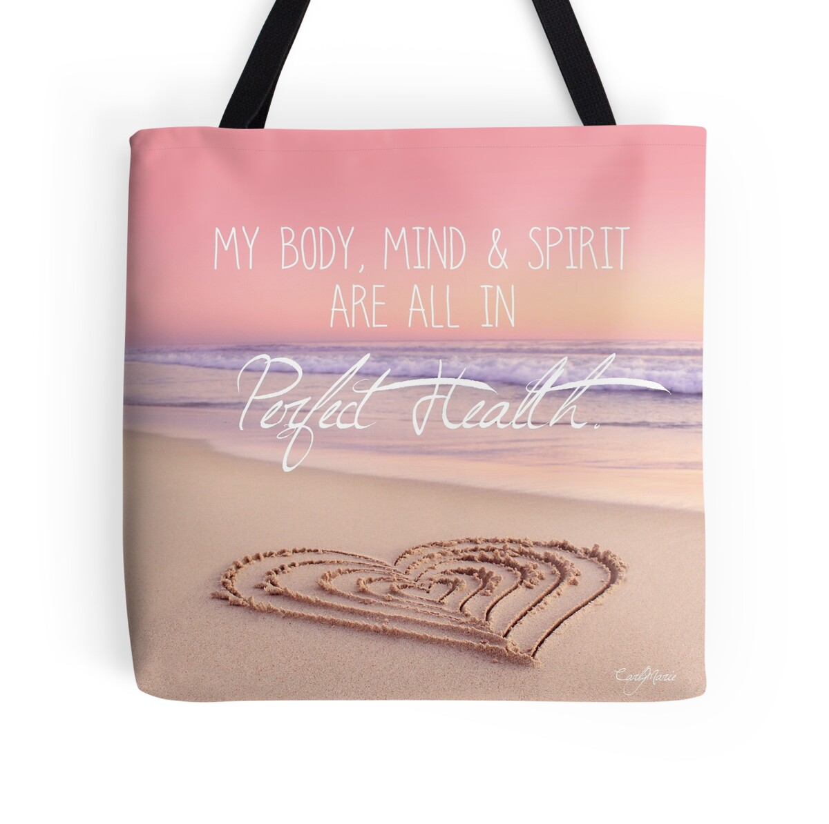 Wall Stickers Perth Quot I Am In Perfect Health Quot Tote Bags By Carlymarie Redbubble
