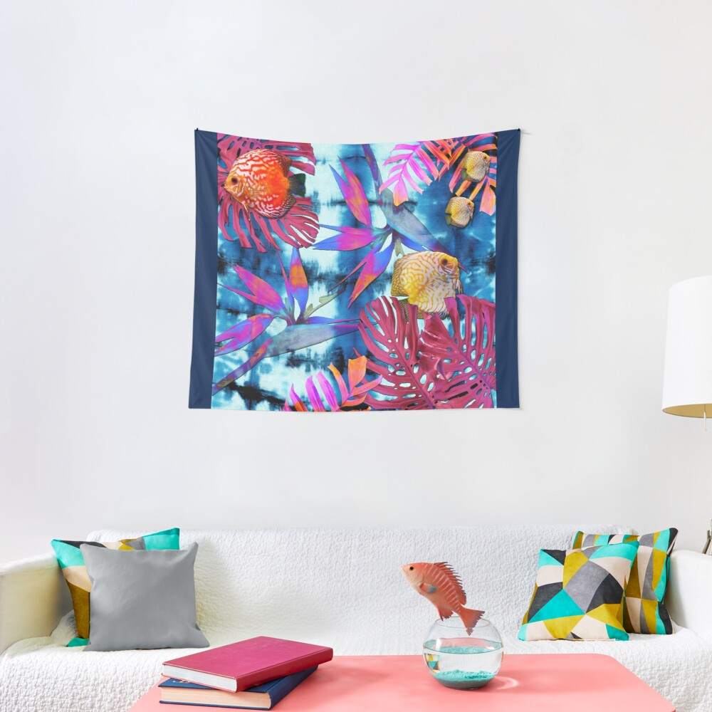 Oceanna Collage Tapestry