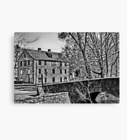 Colonial Industrial Quarter Canvas Print