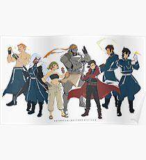 Voltron Legendary Defender x FMA Brotherhood Poster