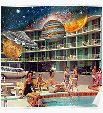 """Motel on Mars""  Poster"