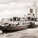 Ref: 76 - The Worthing Belle, Paddle Steamer. by CentenaryImages