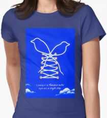 Blue Sky Women's Fitted T-Shirt