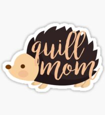 Quill Mom Sticker