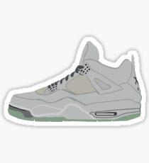 Jordan 4 Kaws Sticker