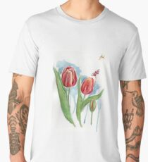 Tulips Men's Premium T-Shirt