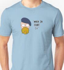 Mythbusters - The Hyneman Unisex T-Shirt