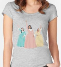 Schuyler Sisters! Women's Fitted Scoop T-Shirt