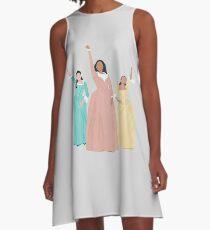 Schuyler Schwestern! A-Linien Kleid