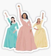 Schuyler Sisters! Sticker
