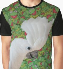 Silly Cockatoo Graphic T-Shirt