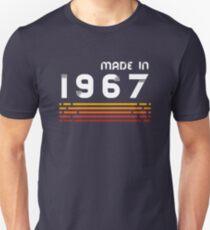 Made In 1967 T-Shirt Retro 50th Birthday Gift T-Shirt T-Shirt