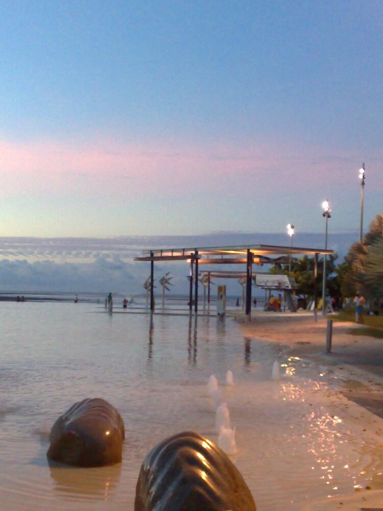 cairns lagoon sunset by harveyincairns