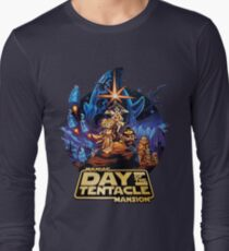 Day of the Tentacle - Star Wars mashup Long Sleeve T-Shirt