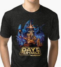 Day of the Tentacle - Star Wars mashup Tri-blend T-Shirt