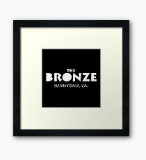 The Bronze Sunnydale Merchandise Framed Print