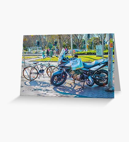 Cultured Bike Greeting Card