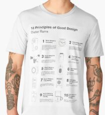 10 Principles of Good Design Men's Premium T-Shirt