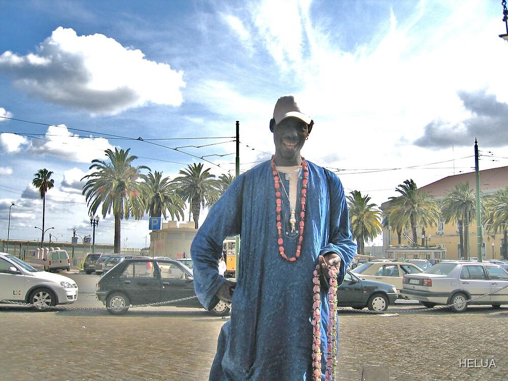 The Street Vendor by HELUA