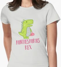 Auntiesaurus Rex Shirt, Funny Aunt Dinosaur tshirt T-Shirt