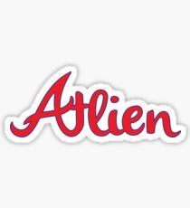 Atlien Sticker