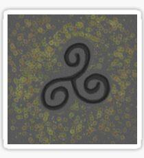 Lichen Triskele Sticker