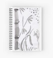 Bamboo & Stars Spiral Notebook